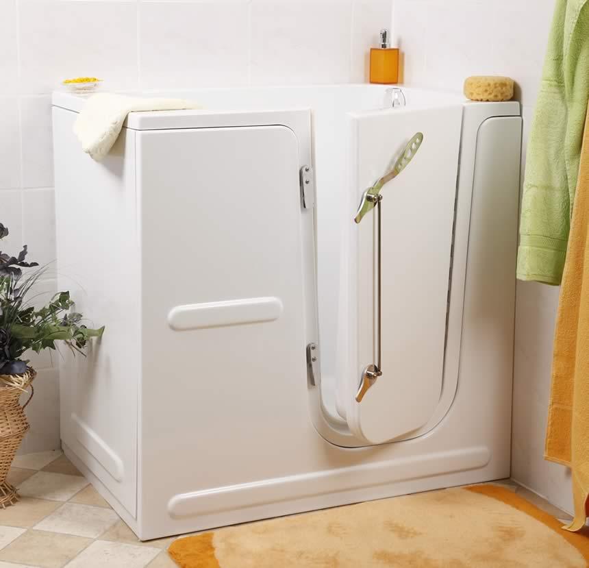Mobiflex Badewanne mit Tür